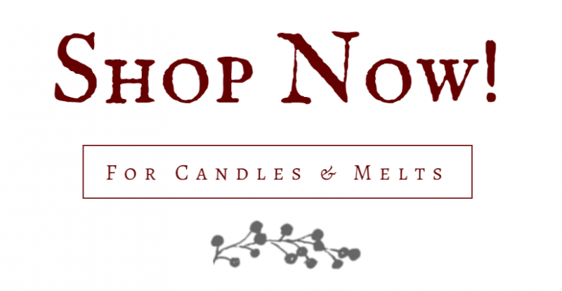 shop now for candles and melts
